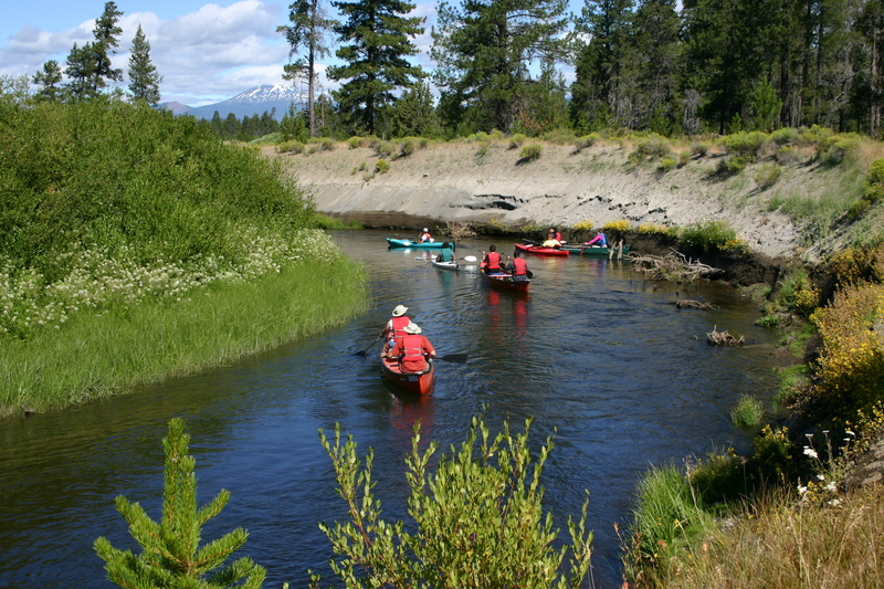 Kayaks, Canoes, by High Bank